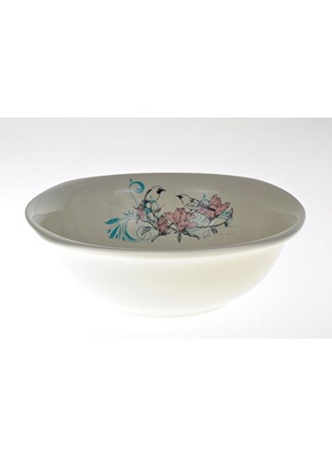 Keramika 25 Cm Dıyar Kase Krem